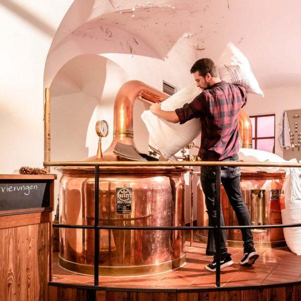 Koenig von Flandern - Bier Zubereitung