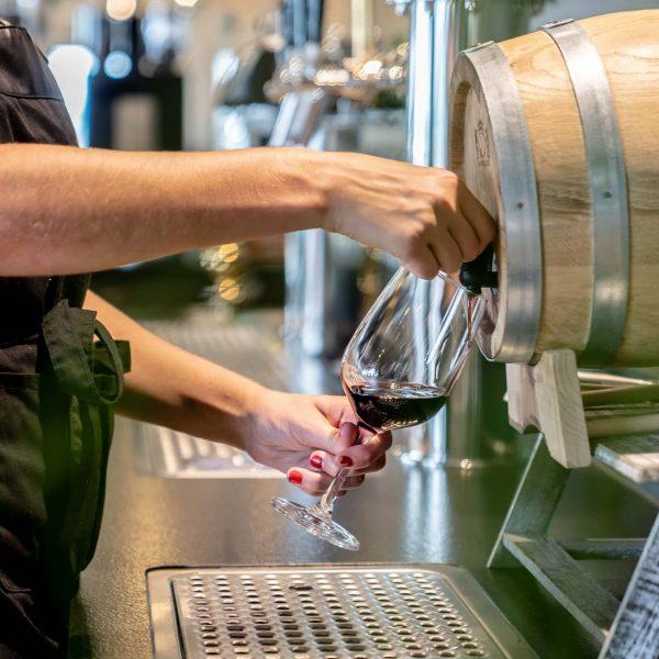 Sky Restaurant Wein